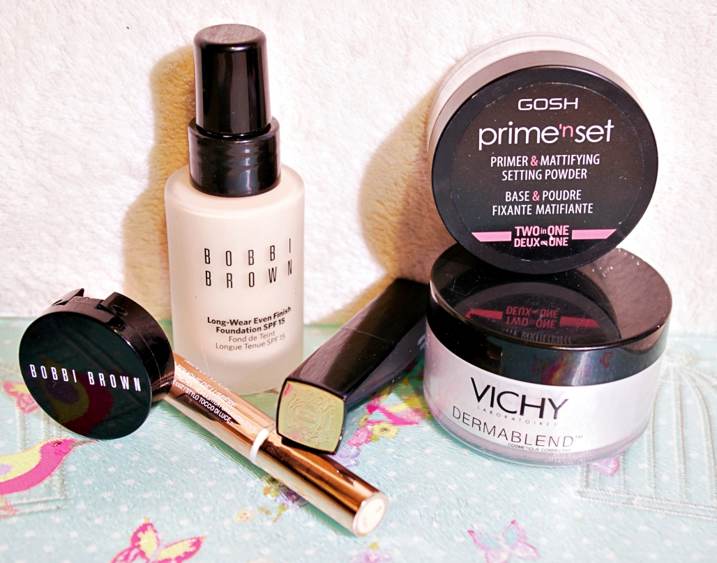 Foundation routine drugstore high end