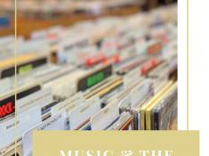 Millennials and music Pinterest graphic